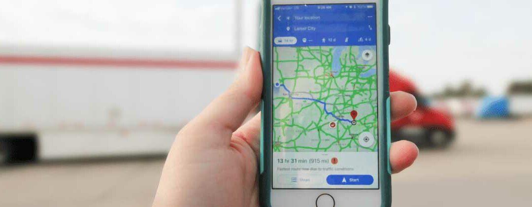GPS on phone