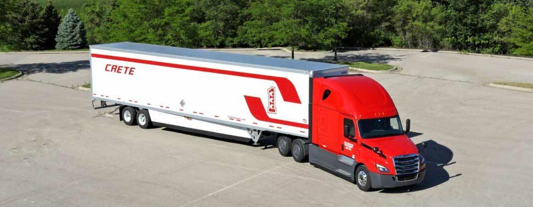 Crete Carrier truck and dry van