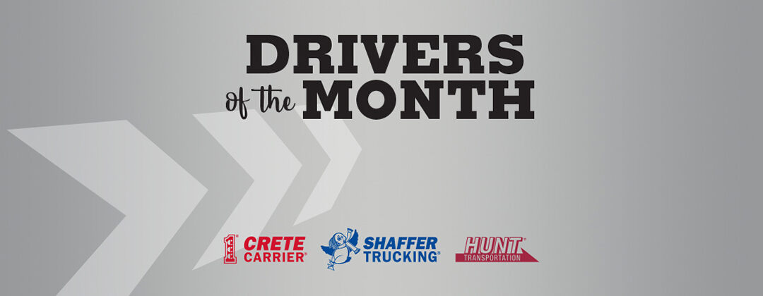 July 2020 Drivers of the Month