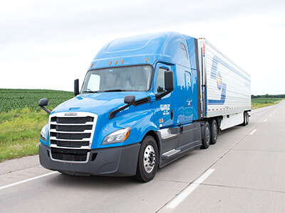 Crete Carrier and Shaffer Trucking pay on practical miles
