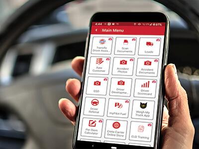 Crete and Shaffer mobile Driver App