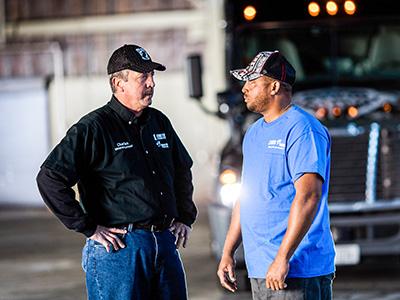 Crete Carrier and Shaffer Trucking driver referral program